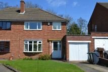 3 bedroom semi detached house in Belmont Road, Rubery...