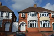 3 bed Terraced house in Ryde Park Road, Rednal...