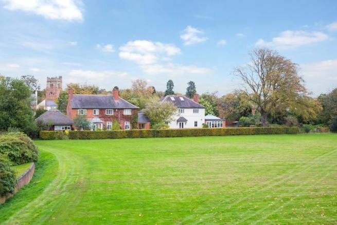 View from Dunchurch Hall Grounds