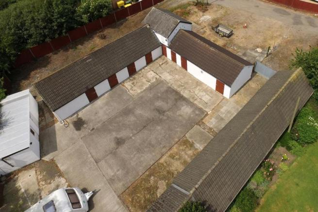 Stables - Aerial View