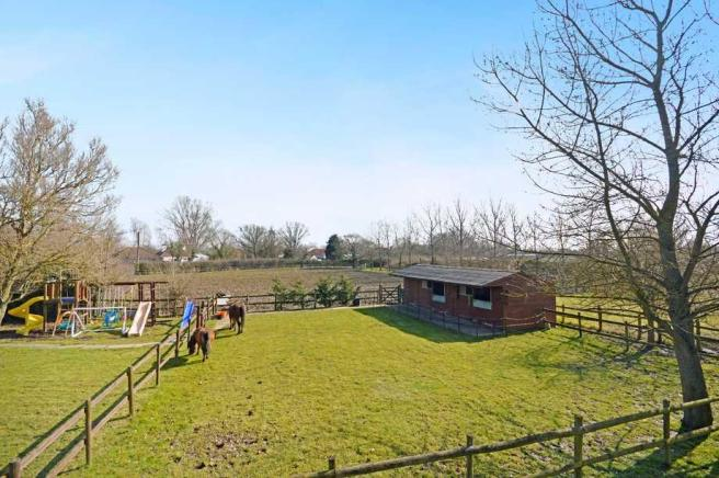 Stables + Paddock