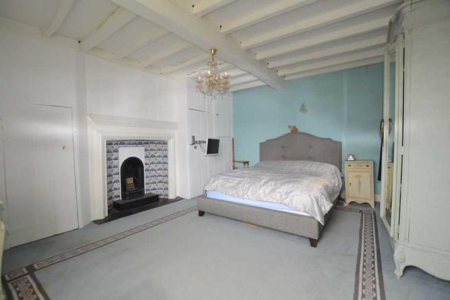 Bedroom with Delft Tiles