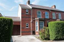 semi detached house in Hooton Road, Willaston