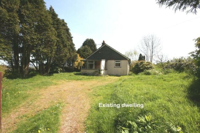 existing dwelling (m