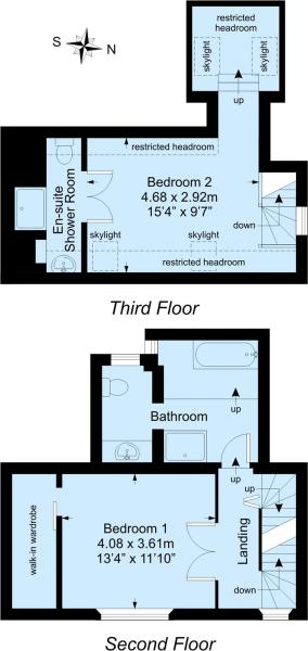 2nd and 3rd Floors