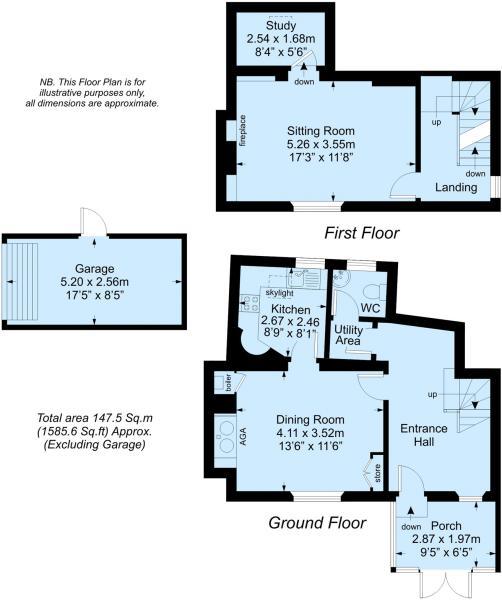 Ground and 1st Floor