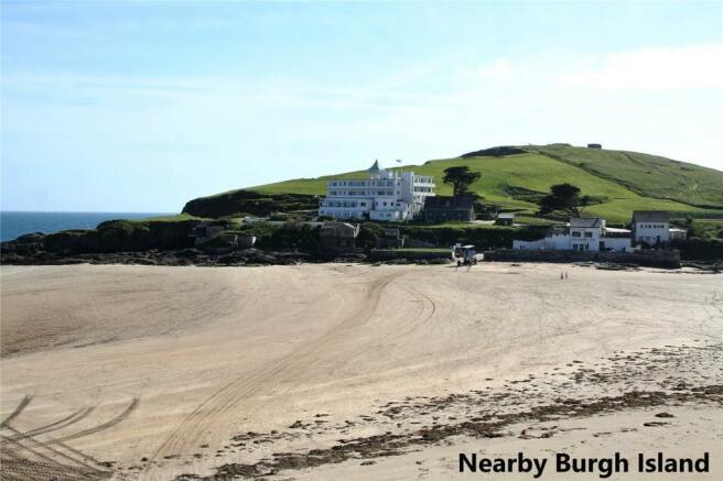 Nearby Burgh Island