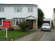 3 bed semi detached property in Glamorgan Close...