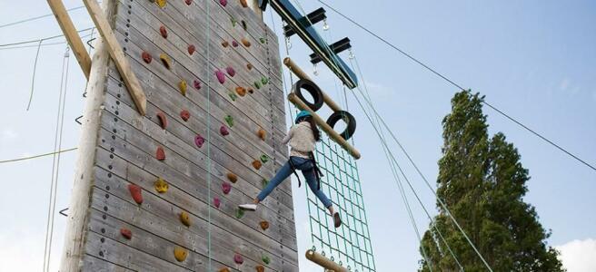 Park Climbing Wall
