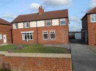 semi detached house in West View, Costhorpe...