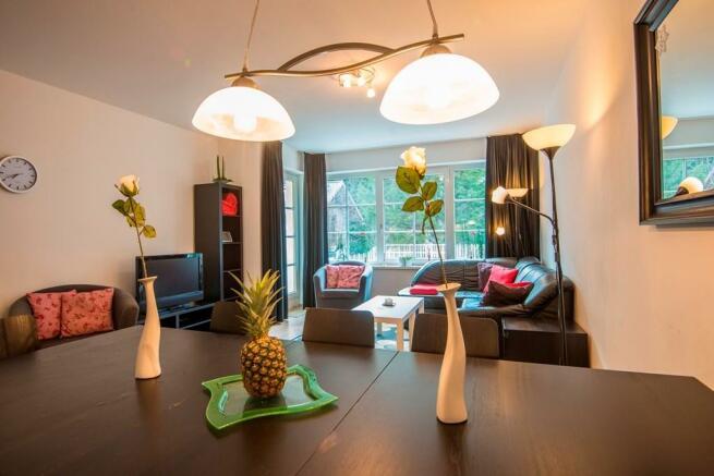 dinin/living area