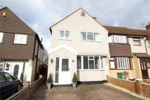 3 bed End of Terrace property for sale in Norfolk Crescent, SIDCUP...