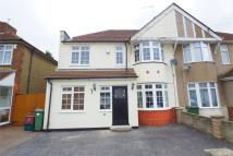 semi detached home in Northumberland Avenue...