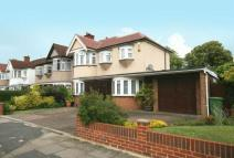 semi detached home in Exeter Road, Harrow...