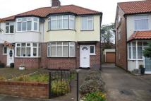 semi detached house in Oakhampton Road...