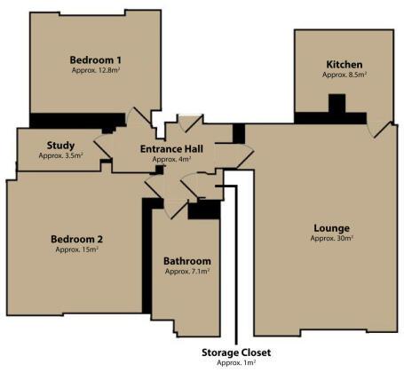 Lee Park - SE3 - Floor Plan - Oliver Field Associates