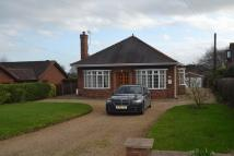 2 bed Detached Bungalow for sale in Common Road, Wressle
