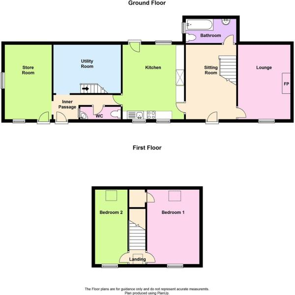 Penbanc, Trefenter floor plan.JPG