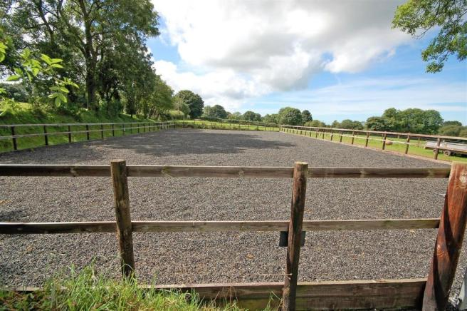ALL WEATHER RIDING ARENA
