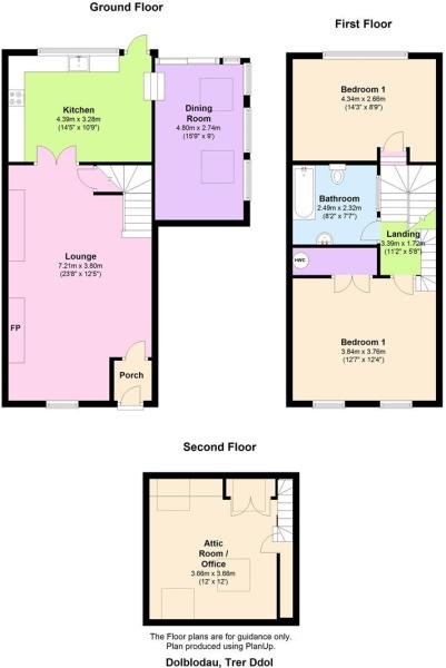 DOLBLODAU floor plan