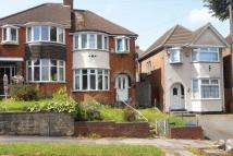 Perry Wood Road semi detached property for sale
