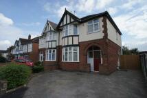3 bedroom semi detached home to rent in CRICH AVENUE, Derby, DE23