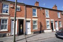 2 bed Terraced home to rent in ALLESTREE STREET, Derby...