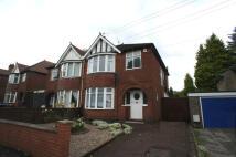 3 bed semi detached property in WARWICK AVENUE, Derby...