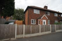 semi detached house to rent in BURNSIDE STREET, Derby...