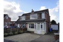 semi detached property in Haigh Crescent, Chorley...