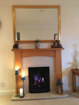 Real Flame Gas Fire