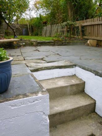 Steps to garden
