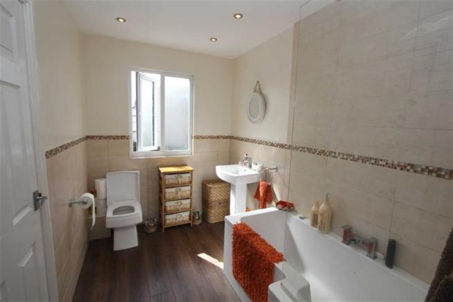 Jack-and-Jill House Bathroom