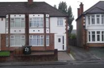 3 bedroom End of Terrace house to rent in Keresley Road, Keresley...