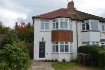 3 bedroom semi detached house to rent in Church Hill Avenue...