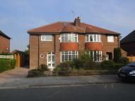semi detached property in Rydal Drive, Hale Barns...