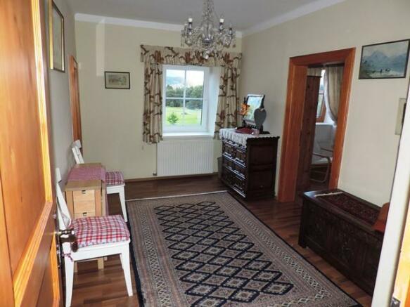 Guest suite foreroom