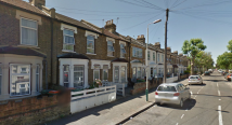 Terraced house to rent in South Esk Road, London...
