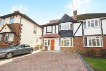 semi detached house in Sherrock Gardens...