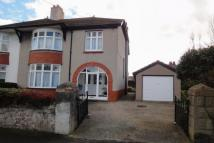 semi detached property in Alexandra Road, Abergele