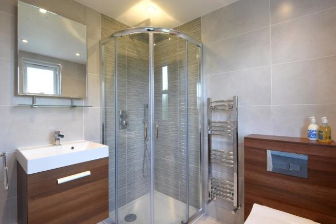 Ensuite Shower Room To Master Bedroom