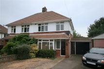semi detached property in Coach Road, Hamble...