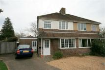 3 bed semi detached home in Chalmers Way, Hamble...