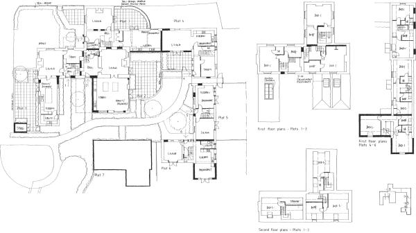 Floor plan arrang...