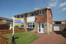 semi detached home in Redland Close, Hartburn...
