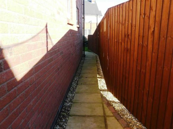 PAVED WALKWAY TO THE
