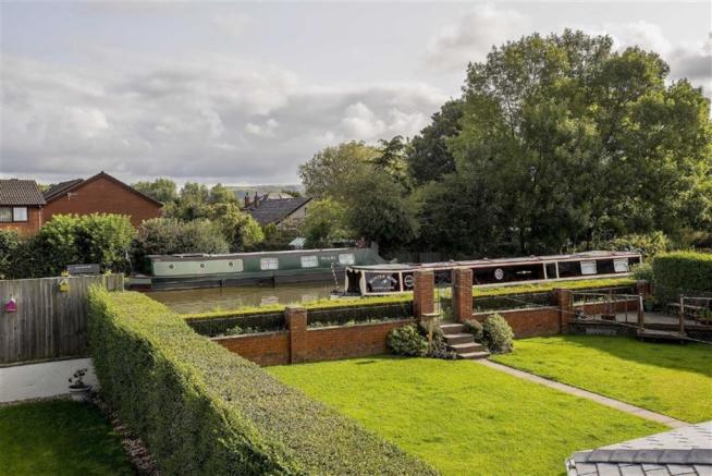 View of the Canal from Bedrooms One and Two