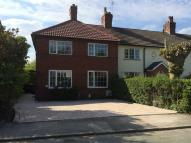 semi detached house to rent in Crescent Road...