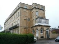 Studio flat in Lansdown Crescent...