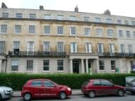 Studio apartment in Lansdown Crescent...